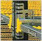 Гравитационные стеллажи для грузов в коробках и контейнерах