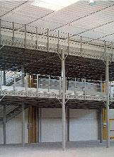 Многоэтажные стеллажи
