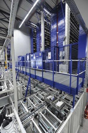 стеллажи Автоматическая система управления складом