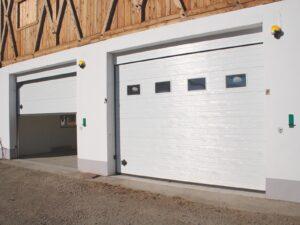 Portone-sezionale-da-garage-SIRIO-Woodgrain-bianco-C81-min